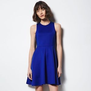 Milly for DesigNation Blue Fit & Flare Dress NWT